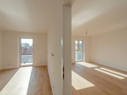 ++NEU** Hochwertiger 2-Zimmer NEUBAU-ERSTBEZUG mit 6m² Balkon! perfekt für ANLEGER oder Pärchen!