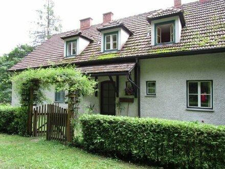 1,6 ha Grünland mit Wohngebäude Nähe Scheibbs