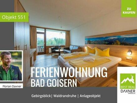 Anleger- Ferienwohnung mit Rundum-sorglos-Paket in Waldrandruhelage von Bad Goisern am Hallstättersee!
