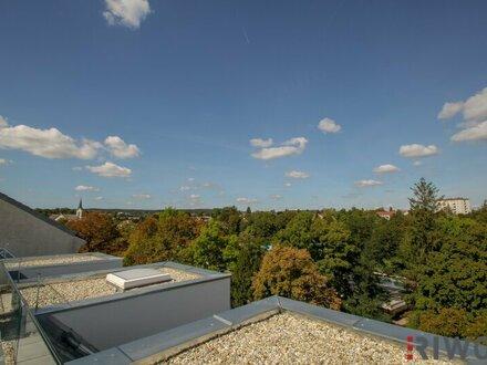 ERSTBEZUG!!!! DG-Dachterrassenwohnung mit Weitblick inkl. Garagenplatz