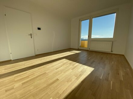 MATZLEINSDORFER PLATZ: 3-Zimmerwohnung im 10. Liftstock (DG) mit traumhaftem Fernblick!