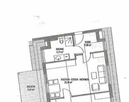 Liezen! - Mitten im Leben! Top 07-Wohnträume werden wahr-Die elegante Starterwohnung für alle, die hoch hinaufwollen