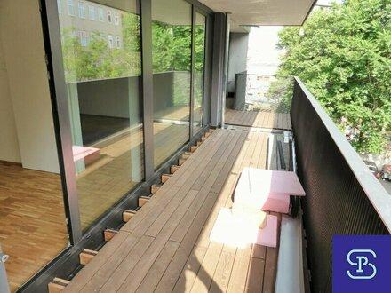 Exklusiver 40m² Neubau mit Einbauküche u. Balkon!