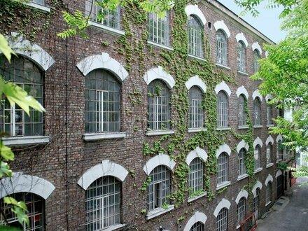 LOFT-BÜRO zum Sanieren in ehemaliger Seidenfabrik!