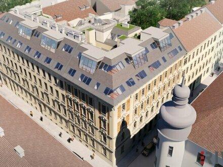 Pure Eleganz - Dachgeschosswohnungen in wunderschön saniertem Gründerzeithaus