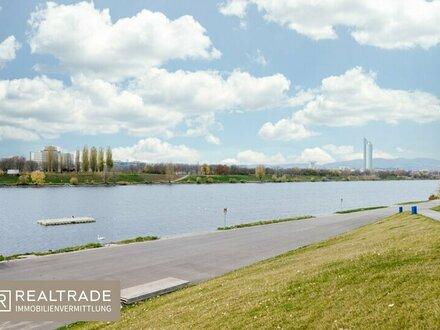 Exklusives Luxus-Penthouse mit sensationellem Fernblick direkt an der neuen Donau(inkl.3 Garagenplätzen)