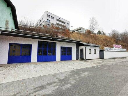 Werkstatt und Lagerflächen in Schwarzach zu vermieten