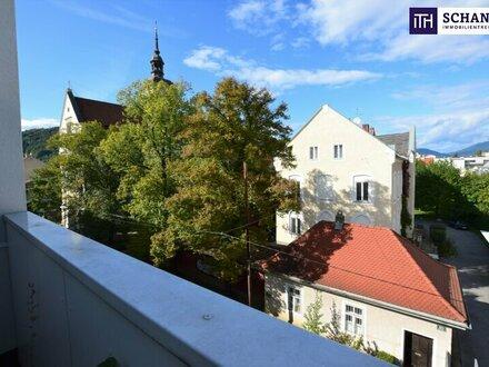 GRÜNBLICK: Wohnen im Herzen von Graz - Genießen Sie ruhige Relax-Stunden auf Ihrer neuen Loggia