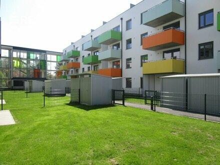 2 Zimmer-Wohnung mit Garten in zentraler Lage