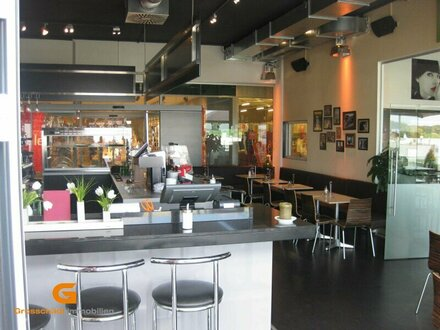 Eugendorf - Cafe/Bistro mit Terrasse in FMZ-Lage, ablösefrei zu vermieten