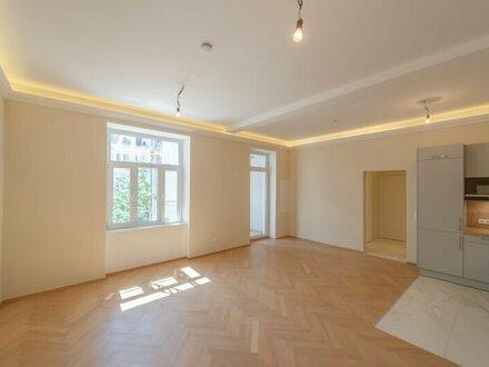 ++NEU++ Hochwertiger 3-Zimmer Altbau-ERSTBEZUG mit ca. 7m² Terrasse! FREI VERMIETBAR!