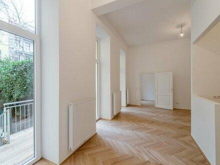 ++NEU** 4,5 Zimmer Altbauwohnung, ERSTBEZUG, toller Stilaltbau, 11m² Balkon + 44m² Garten