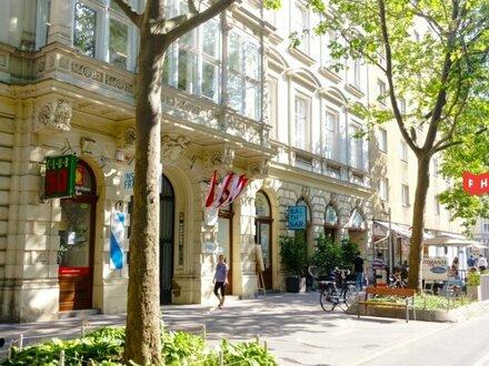 Modernes City-Apartment im Stadtpalais in bester Lage direkt bei U1 Nestroyplatz