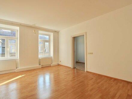 EUM - Ruhelage! Helle 2-Zimmer-Altbauwohnung im 3. Stock nächst Hauptbahnhof