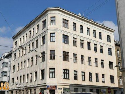 2 Zimmer im Altbau, teilweise sanierungsbedürftig! Nähe U-Bahn Reumannplatz!