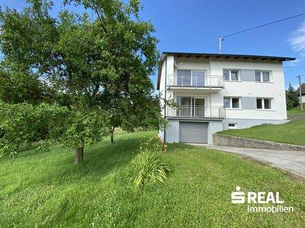 Traumhafte Alleinlage – 3 Zimmer Wohnung in einem Haus mit Garten in Sipbach/Pucking zu mieten