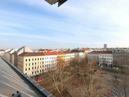 SCHÖNER PARKBLICK - 4 ZI. DG-Wohnung mit Klimaanlage, Terrasse, guter Ausstattung, unbefristet!