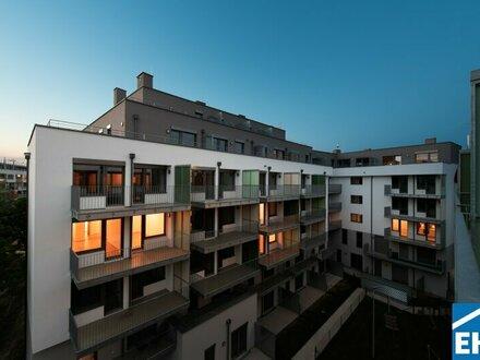 Moderne 2-Zimmer Wohnung mit Balkon – ERSTBEZUG