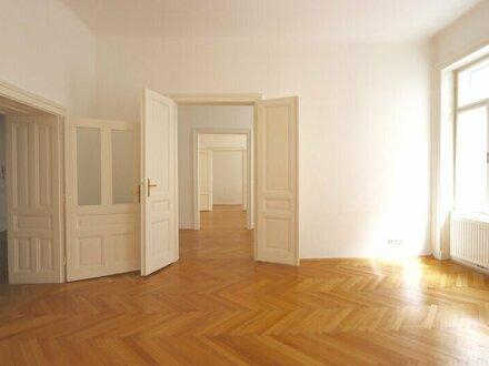 Stil-Altbau nächst Schubertpark! 4-Zimmer-Stil-Altbau im 1. Stock