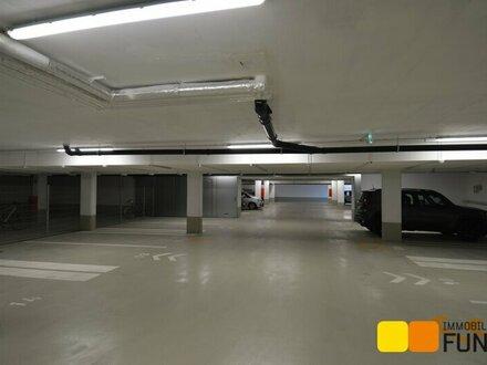 Tiefgaragenparkplatz im Neubau