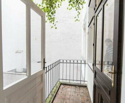 Bezaubernde 4-Zimmer Wohnung mit gemütlichem Balkon in zentraler Lage auf der Mariahilfer Straße im 6.Bezirk!