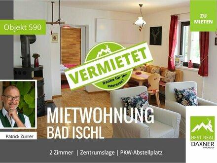 Vermietet! 2-Zi. Wohnung in zentraler Lage von Bad Ischl