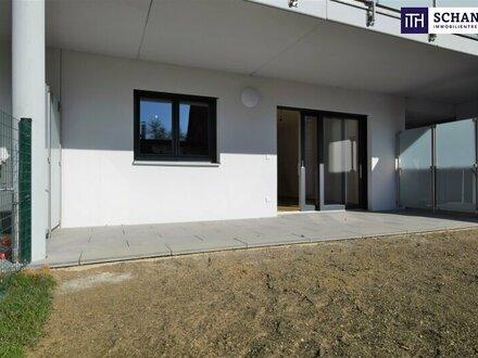 SOFORT VERFÜGBAR!! Idyllische Zwei- Zimmer Wohnung mit Eigengarten + großer Terrasse!