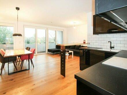 High-End-Living I 2 Zimmer mit Loggia und Weitblick