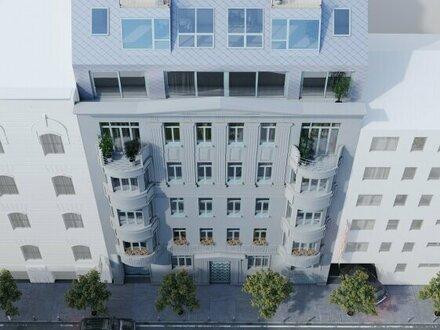 GENERALSANIERTER STILALTBAU - hofseitige Wohnung mit Balkon im KANDLHOF - 1070 Wien