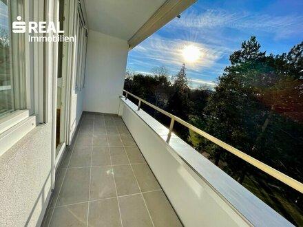 Entzückende 2-Zimmer Wohnung mit Loggia in zentraler Lage in Baden