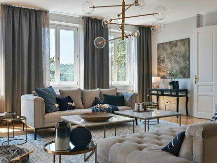 EXKLUSIVE wunderschöne, große DG-Wohnung - komplett möbliert mit 45m² Dachterrasse 1180 Wien
