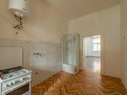 ++NEU++ Sanierungsbedürftige 2-Zimmer ALTBAU-WOHNUNG in toller Lage!
