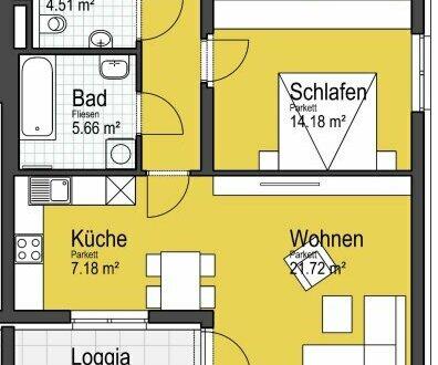 Moderne Mietwohnung in Helpfau-Uttendorf, Neubau, 3-Zimmer