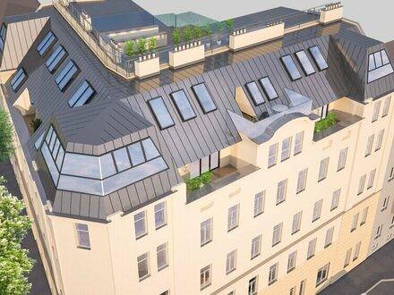 Dachgeschosswohnung 56 m² mit Terasse