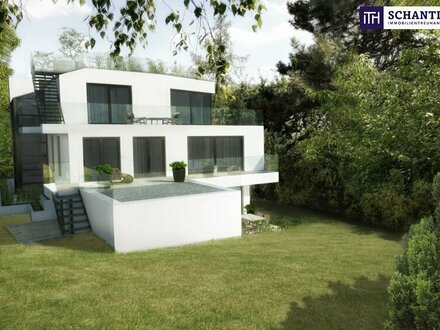 Absolutes Highlight: Dachgeschoßwohnung mit riesiger Terrasse und Eigengarten Richtung Westen in Grünruhelage!