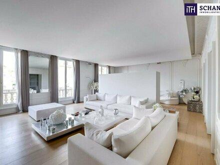Stil, Charme, Eleganz und purer Luxus - vereint und vollendet! Ihr Penthouse mit Wiens bestem Blick auf das Schloß Belvedere.