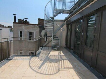 Moderner Dachgeschoss-Traum mit Loggia und Terrasse nähe Rochusmarkt