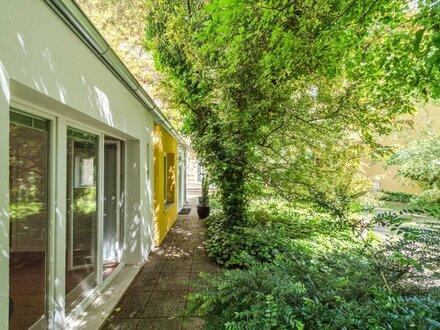 **Rarität** ERSTBEZUG Hofhaus, voll möbliert, mit Garten und Lager! an der Donau!