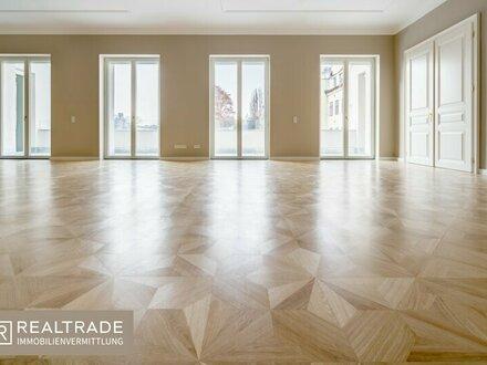 (Erstbezug) Luxuriöse Palaiswohnung in top Lage mit unverbautem Grünblick (Süd-West)