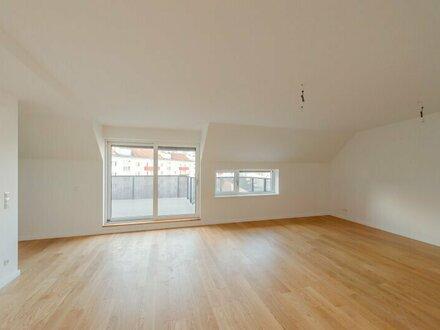 ++NEU** Hochwertiger 3-Zimmer DG-ERSTBEZUG mit Terrasse (23m²), sehr guter Grundriss! alles auf einer Ebene!