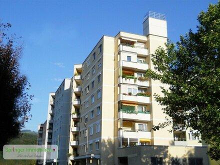 Stimmungsmacher! 2-Zimmer-Wohnung mit Sonnenloggia und Lift