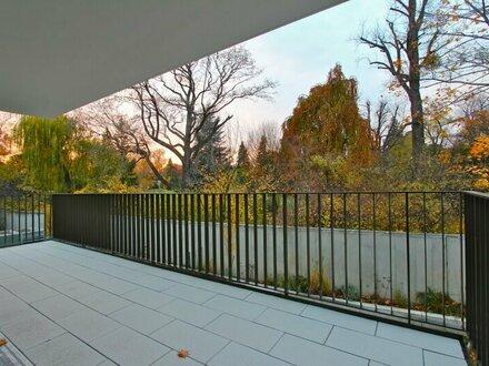 EUM - WOHNTRAUM! Einzigartige Neubauwohnung mit großzügigem Balkon und Parkblick