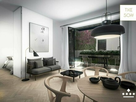 THE SON - Londonstyle-TOWNHOUSE Apartment mit Garten!