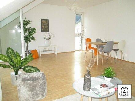 Seekirchen: Hübsche 3-4-Zi.-Wohnung in zentraler Lage