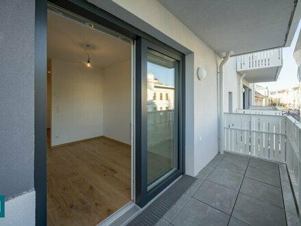 ERSTBEZUG! zentrale Neubau-Mietwohnung mit Außenfläche