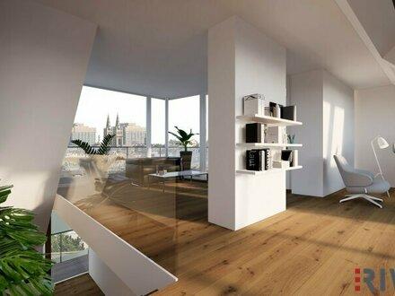 Ein unvergleichbarer Ausblick | Dachgeschoß-Wohnungen mit herausragendem Blick über die Wiener Innenstadt
