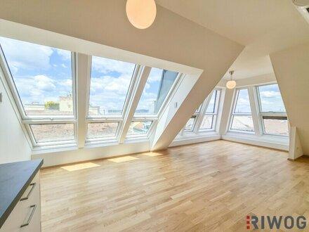 PENTHOUSE | Riesige Eck-Verglasung mit TRAUM-Blick über Wien - 3 Schlafzimmer / 2 Bäder - voll klimatisiert - südseitige…