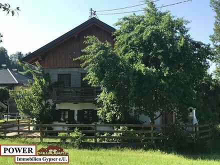 Bauernhaus für Naturliebhaber zum bewohnen oder als Wochenenderholung !!