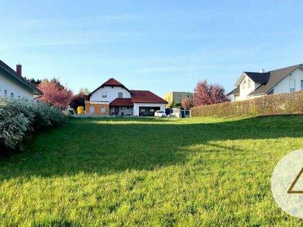 Schönes ebenes Baugrundstück in ruhiger Siedlungslage