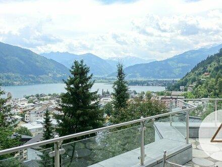 Großzügige Luxusvilla mit See- und Bergblick